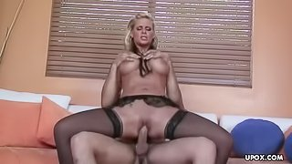 Phoenix getting hert pussy plastered with a huge rod