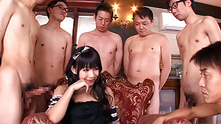Marie Konishi in Little Marie Is Addicted To Cum - JapansTiniest