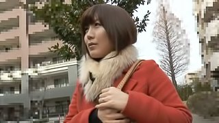 Japanese sweetie blows and gets amazingly fucked by her BF