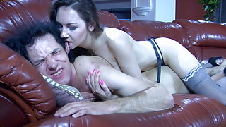 StraponPower Movie: Crystal and Herman A