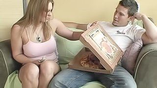 Starla Sterling Loves A Good Sausage In A Pizza