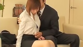 Hot amateur fucked during job interview