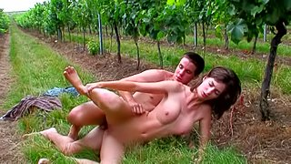 Hot babe Irenka fucking with her brother