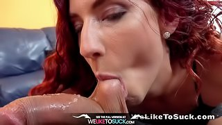 Weliketosuck - Shona River deep throats and gets her pussy fucked hard