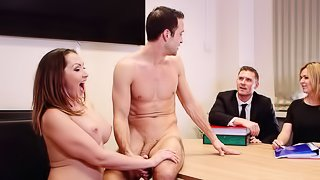 Guy and his raunchy wife have final sex before divorce