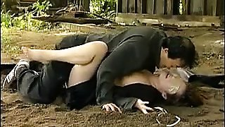 Lovely Japanese teacher getting pounded rough by a horny gu