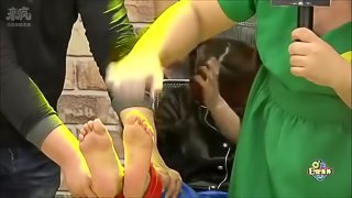 Asian stinky feet tickle 2