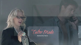 Samantha Rone in Tailor Made Scene