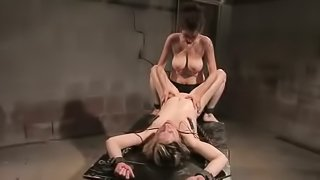Sabina gets tied up, humiliated and fucked in awesome BDSM clip