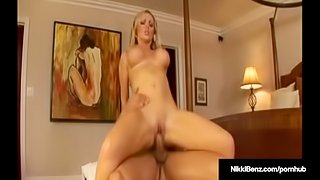 Penthouse Pet Nikki Benz Gets Titty Fucked & Pussy Pounded!