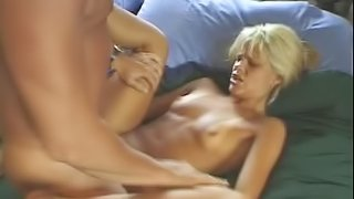 Shay Sweet the pretty blonde babe gets assfucked and jizzed on