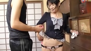 Mature Mama Is Compelled Tto Get Orgams By Her Husband