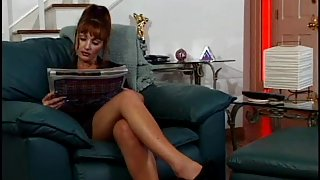 Hawt Red Head mother I'd like to fuck Doxy has Perspired Hot with a juvenile fellow.