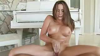 Only big cock can satisfy slutty Chanel Preston