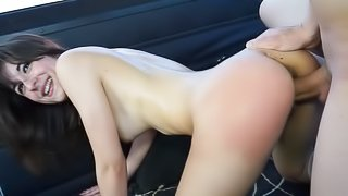 Young doll enjoys sex in the bang bus