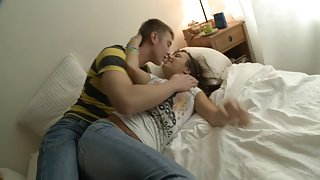 eighteen year old beauty drilled 1st time
