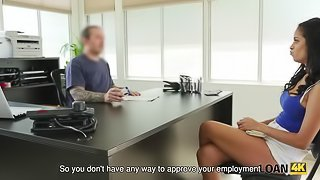 LOAN4K. Horny agent wants to feel that pussy from inside with dick