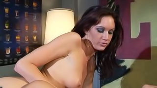 Both girls get their asses and pussies drilled during a FFM threesome
