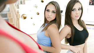 Jenna Sativa & Mercedes Carrera in The Daughter Wars: Part One Video