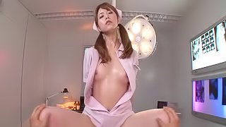 Natural tits nurse in uniform throbbed hardcore in hospital