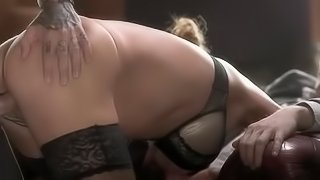 Classy Cathy Heaven Gets Fucked By Dandies
