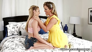 Taylor Whyte & Cherie DeVille in Seducing Your Friends Video