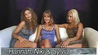 Crazy pornstars Nikki Montana and Silvia Sun in best anal, big dick adult video