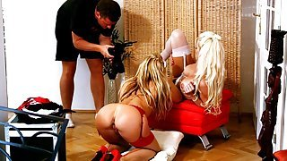 Silvia Saint and Stacy Silver...