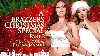 Jillian Janson & Lena Paul in A Brazzers Christmas Special: Part 2 - Brazzers