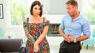 Sarah Williams (Ivy LeBelle) takes cock to help her son