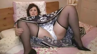 Aged in nylons