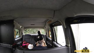 Barbie in Deep anal for lady with big tits - FakeTaxi
