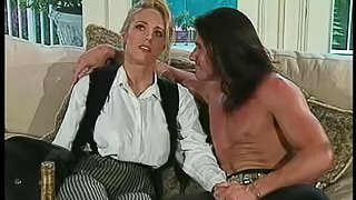 Big tits cowgirl pussy licked before anal ravishing