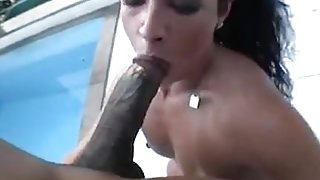 Phat Booty Brazilian Banged Outside
