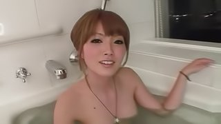 naughty Japanese wife has sex on cam with a cheating dude