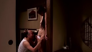 Japanese Yui Hatano in a Great Night For Hardcore Sex with an Old Man