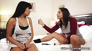 Mercedes Carrera & Abella Danger & Katrina Jade in Dr Jeckyll and Mrs Hyde: Part Two - GirlsWay