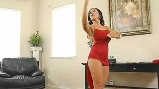 Hot Tango Lessons with Horny Brunette MILF Cherokee