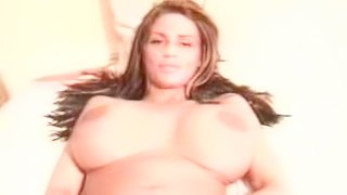 Amateur busty babe Katie Price fucks with big cock