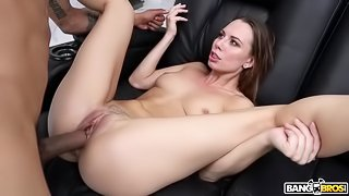 BANGBROS - Aidra Fox's Interracial Fuck on Monsters of Cock!