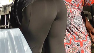 Darksome mother I'd like to fuck Wet Nifty Arse In Spandex