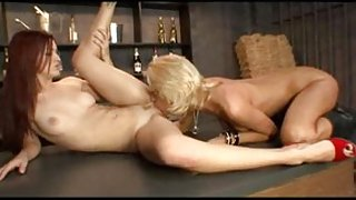 Best pornstars Tanya James and Karlie Montana in hottest redhead, small tits porn movie