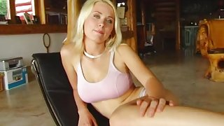 All Internal Blue eyed blonde Nora's shy but she has a hungry pussy