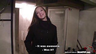 Bitch STOP - Busty Czech girl gets fucked in the cellar
