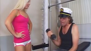 Holly Fox Gets Screwed By A Mature Lad Hardcore