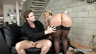 Husband can't trust his slutty wife