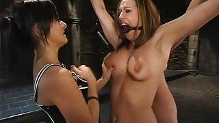 Sasha Sparks, Sandra Romain and Christina Carter in Whippedass Video