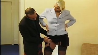 Large blonde and scottish dick