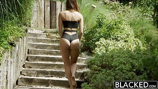 BLACKED Interracial Vacation for Cheating Girlfriend Remy Lacroix