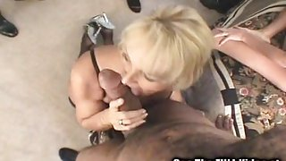 Big Black Cock Party For White Wives